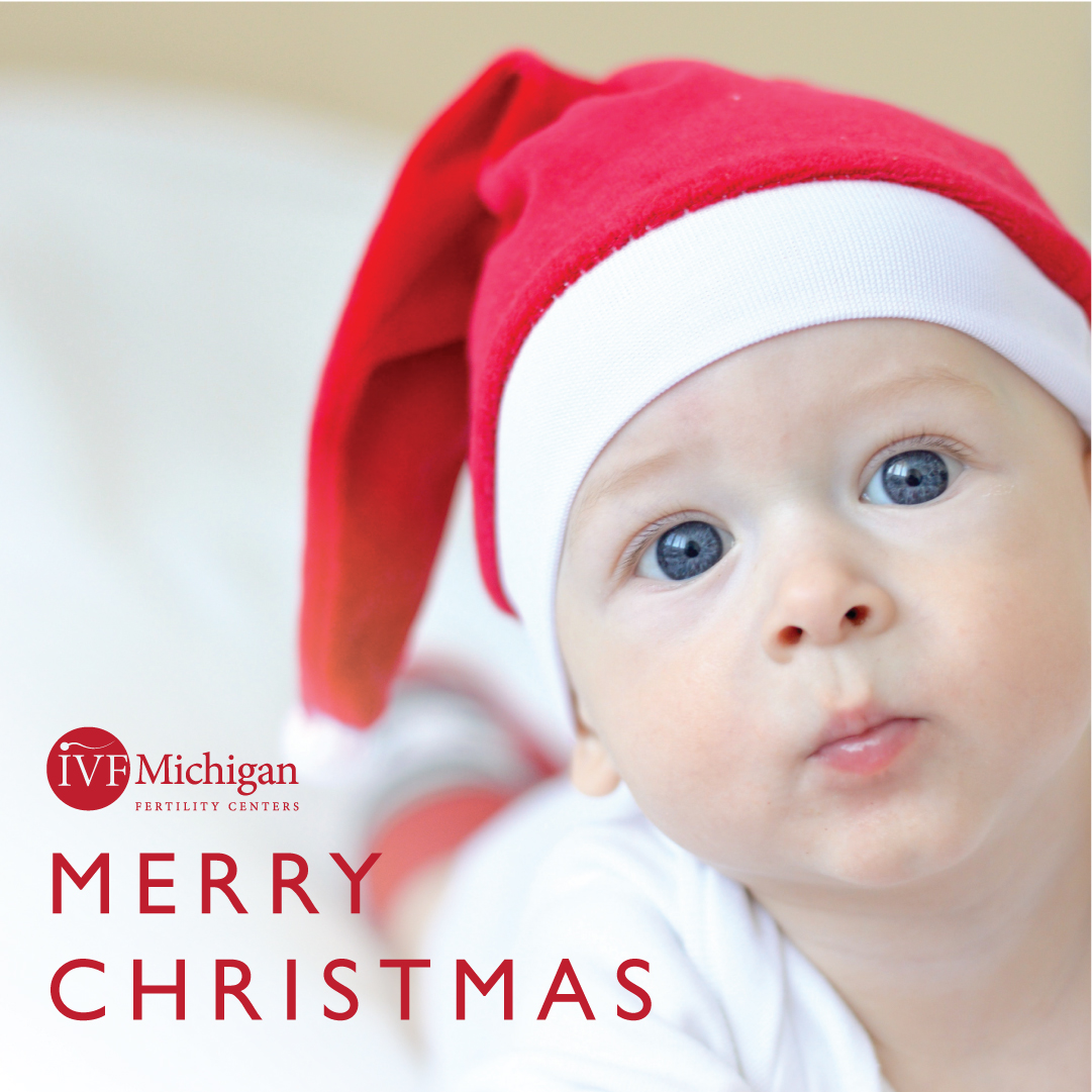 Happy Holidays from IVF Michigan!